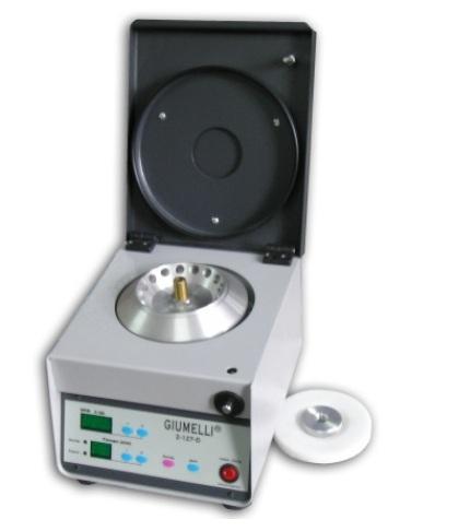 Microcentrífuga  Marca Giumelli® modelo Z-127-D para Tubos Eppendorf. Control Digital.